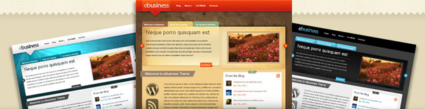 eBusiness wordpress themes
