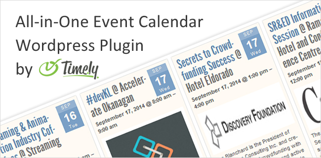 timely-all-in-one-calendar-wordpress-plugin
